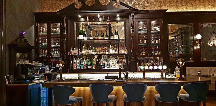 Cocktail Bar Armathwaite Hall Hotel & Spa in Lake District MenStyleFashion 2018