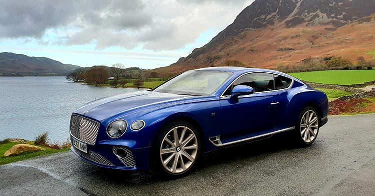 Buttermere Lake District Bentley GT Continental