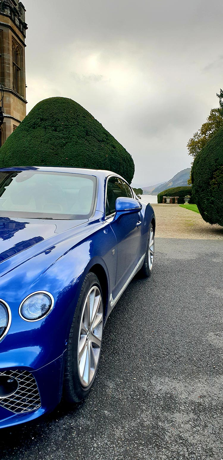 Bentley GT Continental - Grand Tourer Coupe Sequin Blue United Kingdom menstylefashion luxury car 2018 Lake