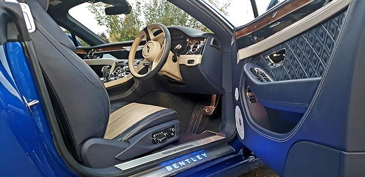 Bentley GT Continental Grand Tourer Leather Hide