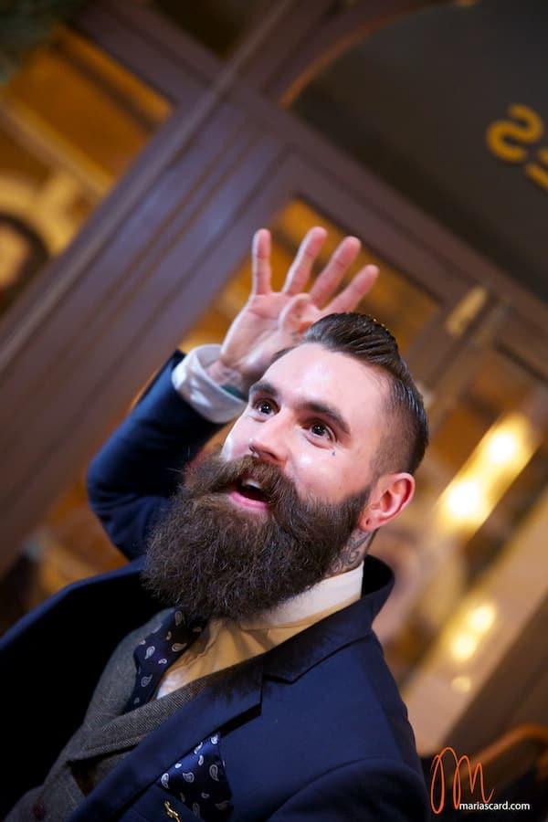 Ricki Hall Movember Beard male model menstylefashion 2014 exclusive (2)