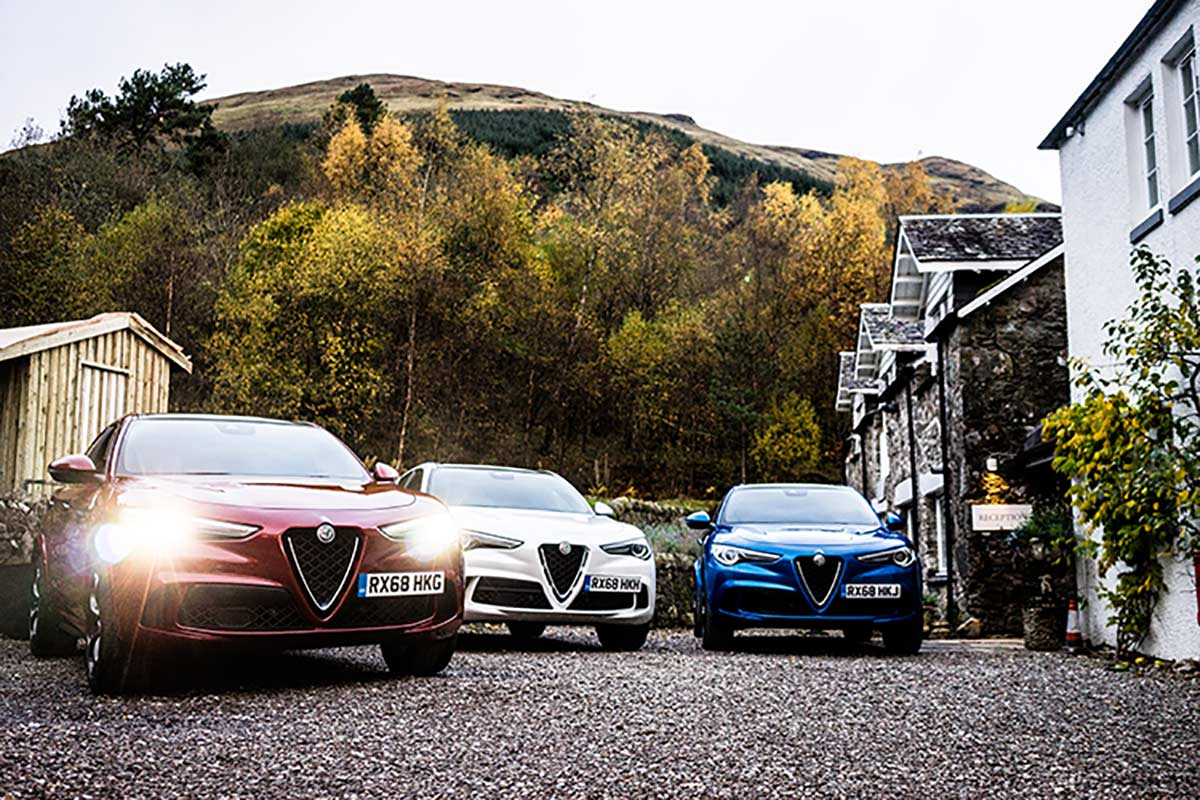 Alfa Romeo Stelvio Quadrifoglio Uk Launch Review Men Style Fashion