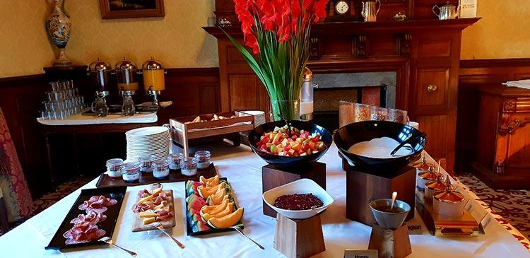 Swinton Park estate Breakfast