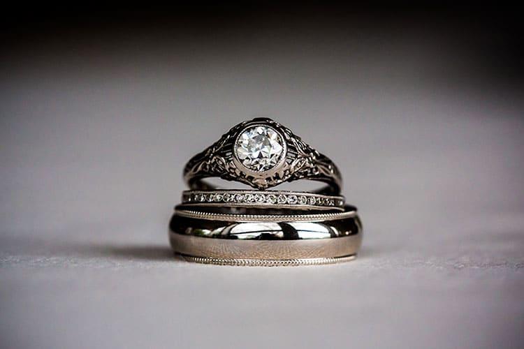 Titanium Engagement Rings