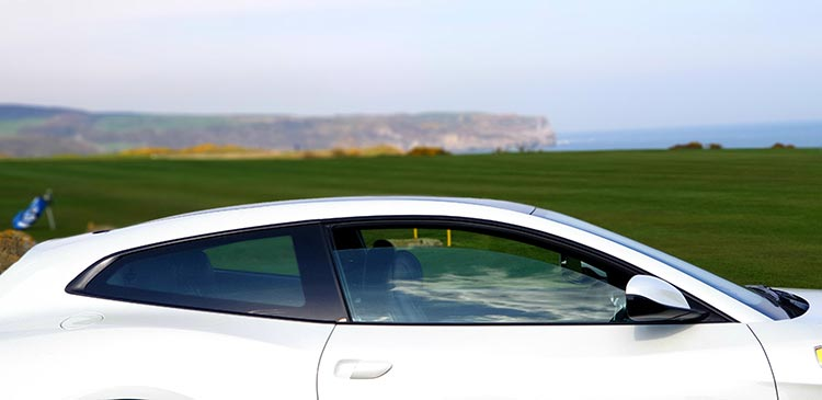 Ferrari GTC4Lusso T North Yorkshire Panoramic roof glass