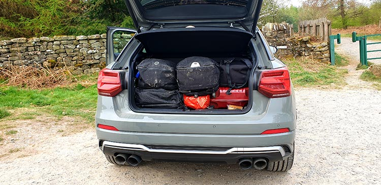 Audi SQ2 boot space