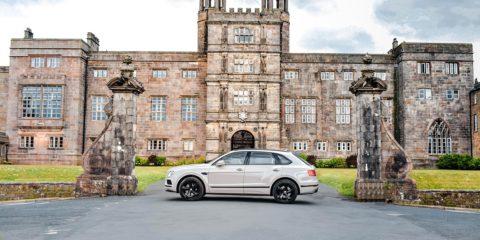 Bentley Bentayga SUV Dove Grey V8