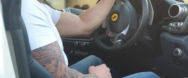Ferrari GTC4Lusso t Tattoo
