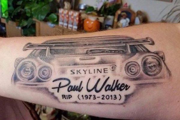Vin Diesel's Tribute to Paul Walker Tattoo