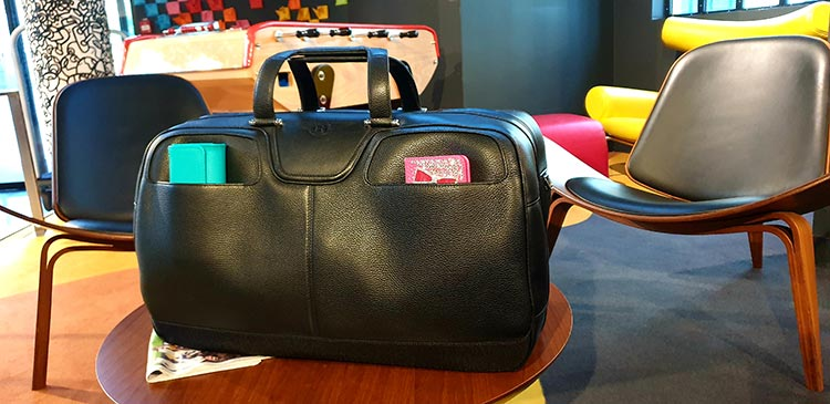 Bentley - Beluga Travel Soft Bag Paris France Molitor Formula E (2)