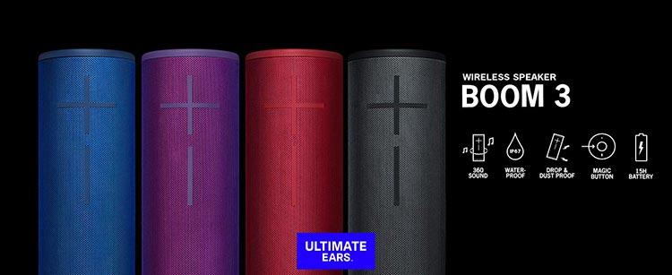 Ultimate Ears Boom 3 Waterproof Speaker